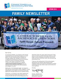 ARCH 18910 Parent Newsletter Spring 2018