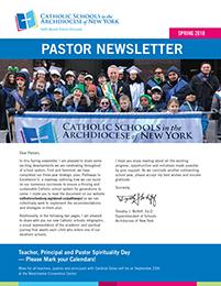ARCH 18910 Pastor Newsletter Spring 2018