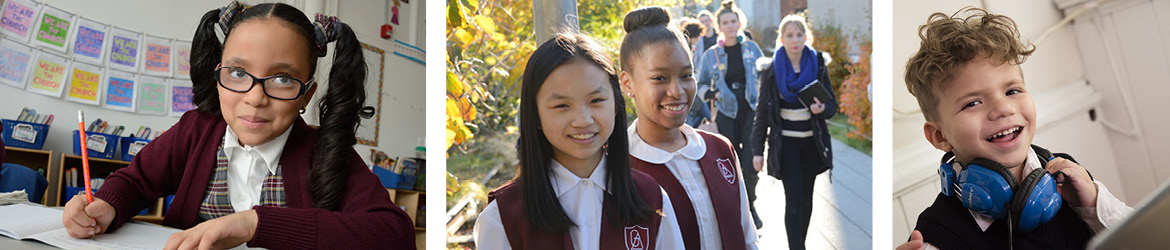 Students in the Archdiocese of New York Catholic School Region of Manhattan
