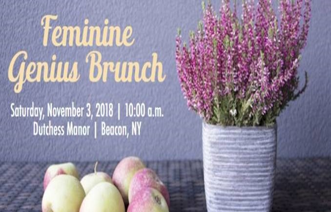Feminine Genius Brunch - Catholic Schools in the Archdiocese
